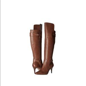 Lauren Ralph Lauren Philena Leather Pump Boot